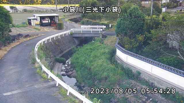 小袋川(下小袋付近)