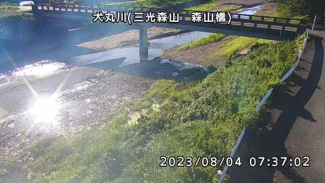 犬丸川(森山橋付近)