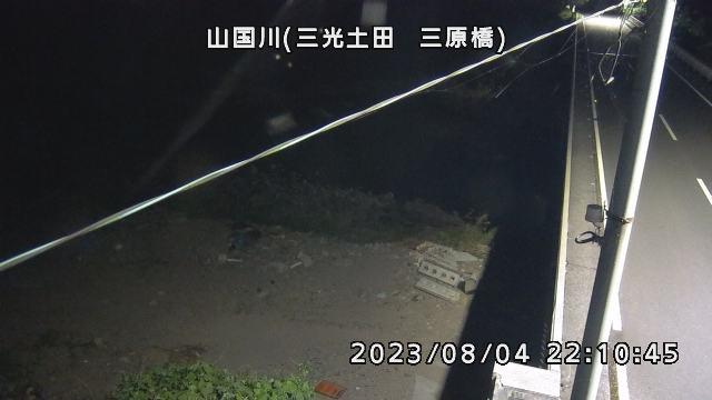 山国川(三光土田 三原橋)