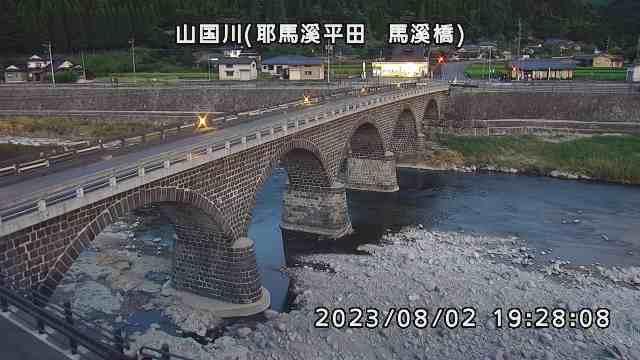 山国川(馬溪橋付近)