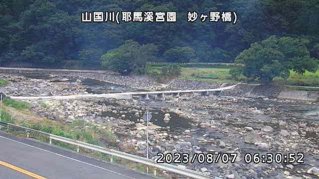 山国川(妙ケ野橋付近)