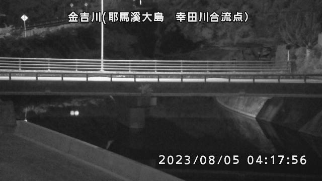 金吉川(幸田川合流点付近)