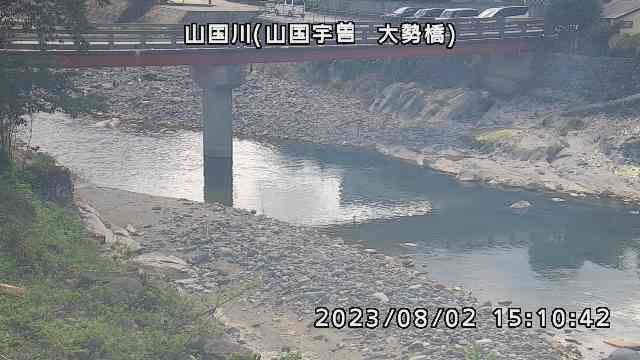 山国川(大勢橋付近)