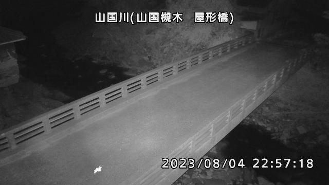 山国川(山国槻木 屋形橋)